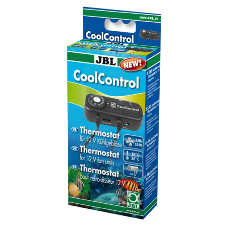 JBL CoolControl Thermostat pour ventilateur de refroidissement Cooler