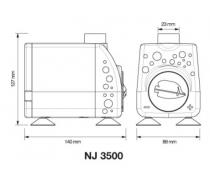 AQUARIUM SYSTEMS Pompe NEW JET NJ3500