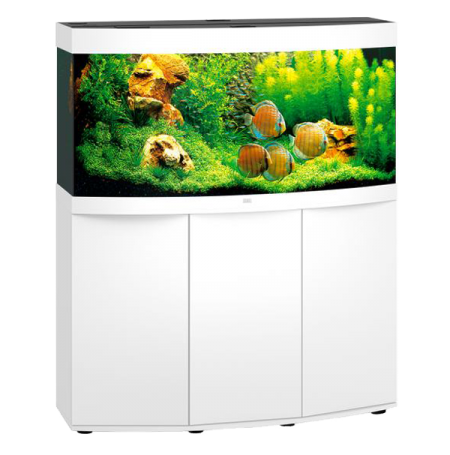 Aquarium Juwel Vision 260 LED + Meuble - Blanc
