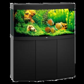 Aquarium Juwel Vision 260 LED + Meuble - Noir