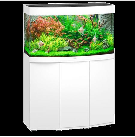 Aquarium Juwel Vision 180 LED + Meuble - Blanc