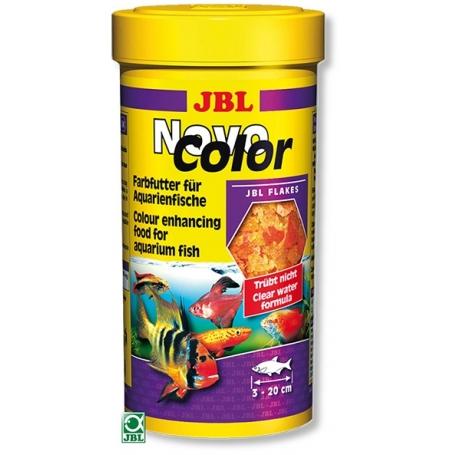 JBL NovoColor, Nourriture Poissons Colorés - 250 ml