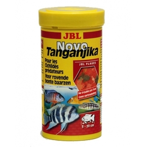JBL NovoTanganjika Nourriture cichlidés prédateurs 250 ml