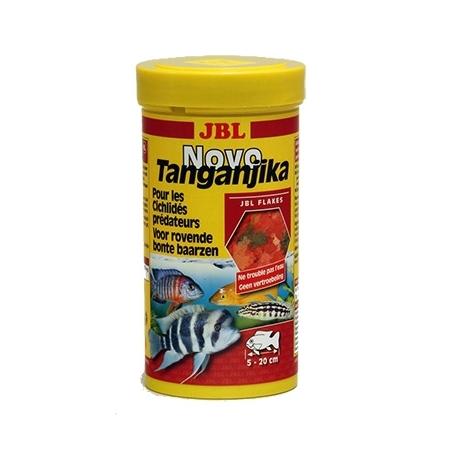 JBL NovoTanganjika  250 ml Nourriture cichlidés prédateurs