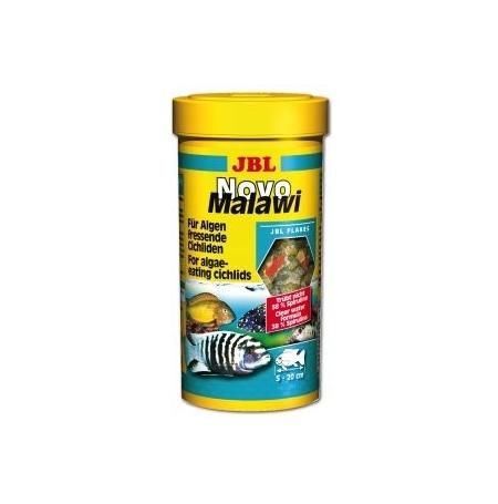 JBL NovoMalawi 250 ml Nourriture cichlidés mangeurs d'algues