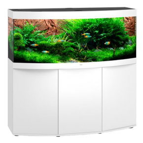 Aquarium Juwel Vision 450 LED + Meuble - Blanc