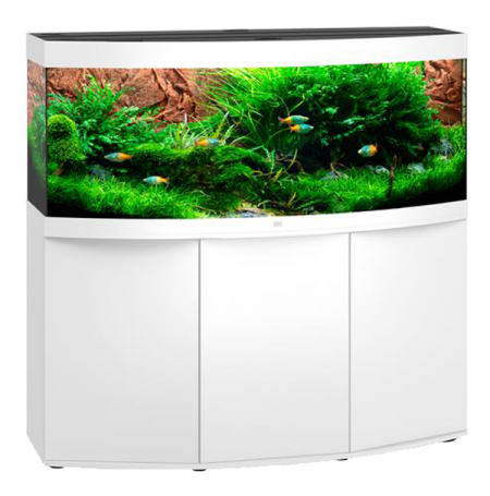Aquarium Juwel Vision 450 LED + Meuble - Blanc