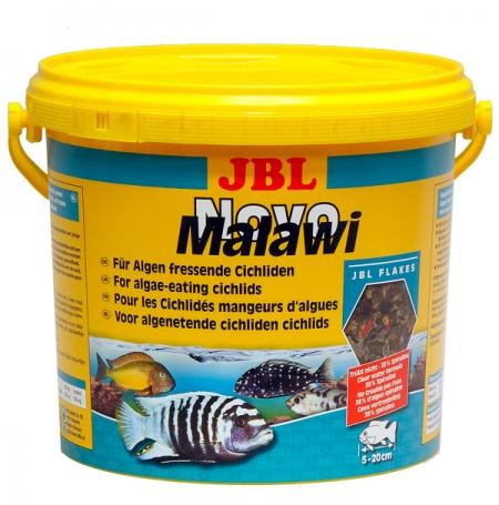 JBL NovoMalawi  5,5L Nourriture cichlidés mangeurs d'algues