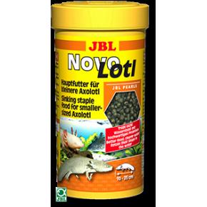 JBL Novolotl Nourriture pour petits Axolotls (granulés) 250 ml