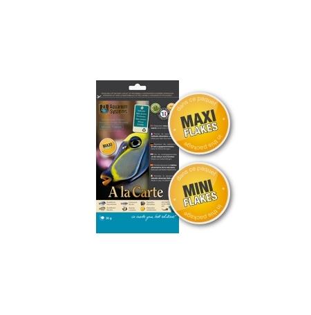 AQUARIUM SYSTEMS Mixed Flakes Mini 30g Flocons A la carte