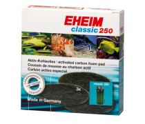 EHEIM Coussins de mousse au charbon actif Classic 250 (Eheim 2213) x3