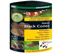 DENNERLE Nano Black Cones Cônes d'aulne x25