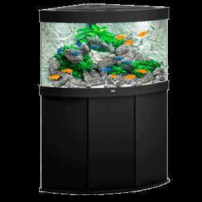 Aquarium Juwel Trigon 190 LED + Meuble - Noir