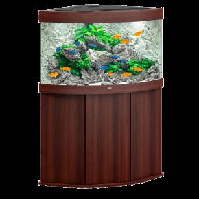 Aquarium Juwel Trigon 190 LED + Meuble - Brun