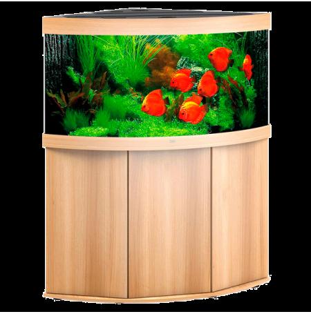 Aquarium Juwel Trigon 350 LED + Meuble - Chêne Clair