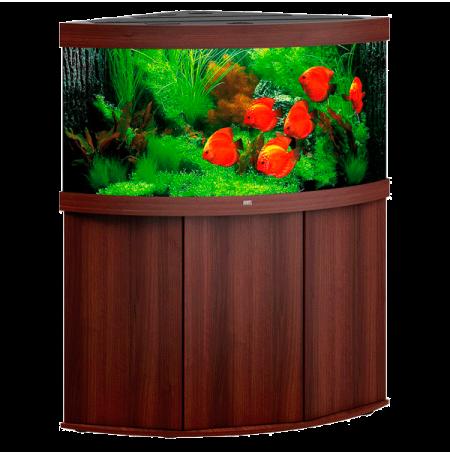aquarium juwel trigon 350 led avec meuble brun. Black Bedroom Furniture Sets. Home Design Ideas
