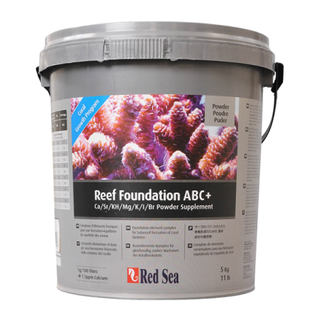 RED SEA Reef Foundation ABC+ complet 5 kg (poudre)
