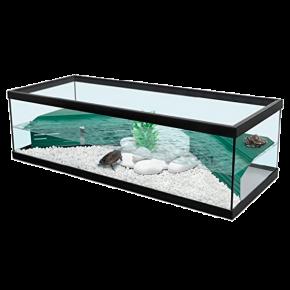 AQUATLANTIS Aqua Tortum 100 - 100x40x30 cm - Noir