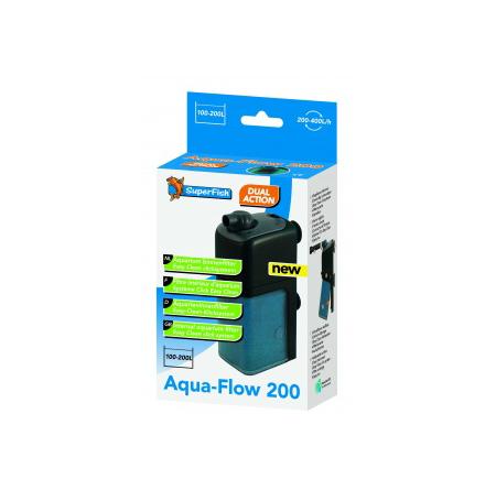 SUPERFISH AquaFlow 200 - Filtre pour Aquarium jusqu'à 200 L