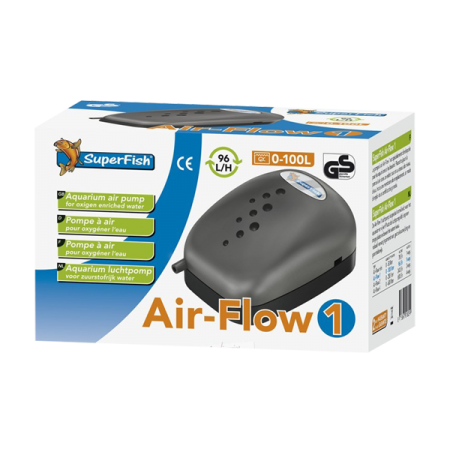 SUPERFISH Pompe Air Flow 1 - 96 L/H