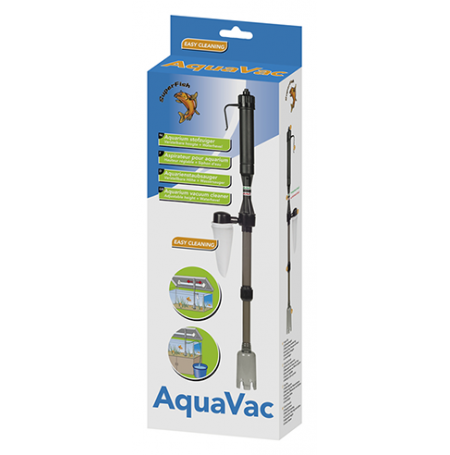 Superfish aquavac aspirateur aquarium for Aspirateur fond aquarium