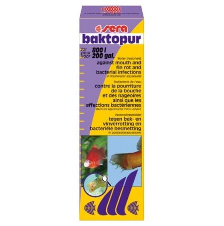 SERA Baktopur 50ml Traitement contre maladies bactériennes