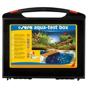 SERA Aqua-test box - Valise comportant 9 tests essentiels