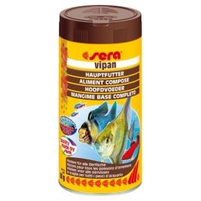 SERA Vipan 250ml Nourriture en flocons pour poissons d'ornement