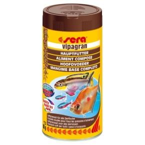 SERA Vipagran 250ml Aliment composé pour poisson de couches moyennes de l'eau