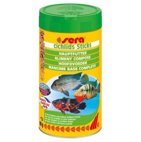 SERA Cichlidés sticks 500ml Aliment de base pour cichlidés
