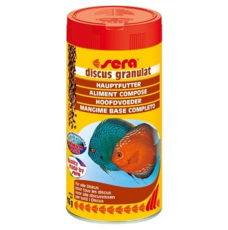 SERA Discus granulat 250ml Pour discus et poissons d'ornement