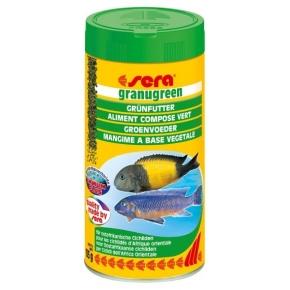 SERA Granugreen 250ml Nourriture végétale pour cichlidés