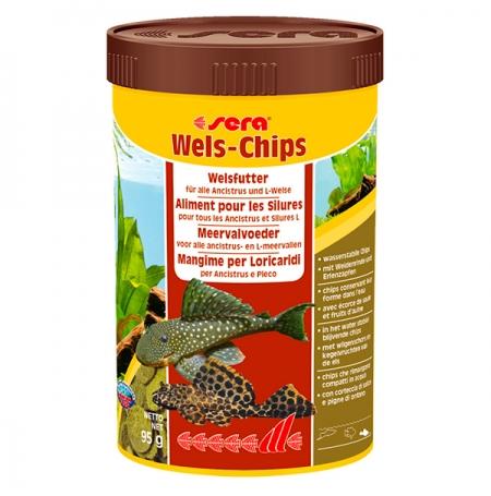 SERA Wels-Chips - 250 ml