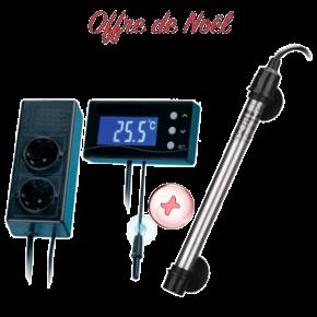 OFFRE DE NOEL - AQUA MEDIC Titanium 300 W. +  Thermostat TC-300
