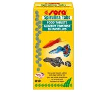 SERA Spirula tabs (24 pastilles) Aliment pour cichlidés d'Afrique orientale et cyprinodontidés vivipares
