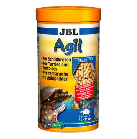 JBL Agil, Nourriture principale Tortue - 1 litre