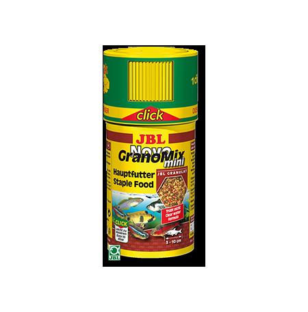 JBL NovoGranoMix Mini Click 100ml Nourriture mixte petits poissons