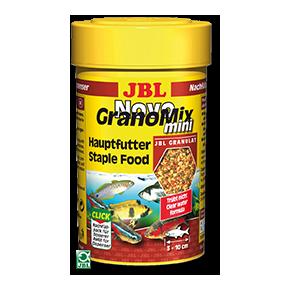 JBL NovoGranoMix Mini 100ml Nourriture mixte en granulés pour petits poissons Recharge