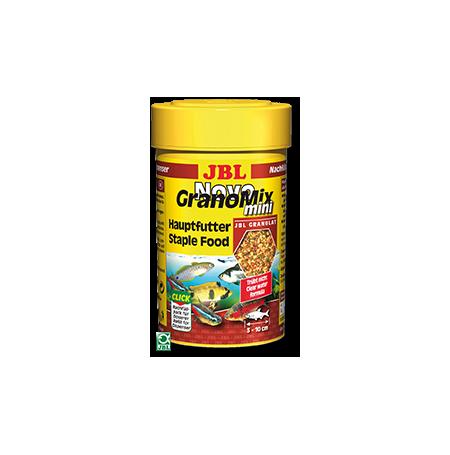 JBL NovoGranoMix Mini 100ml Nourriture mixte pour petits poissons