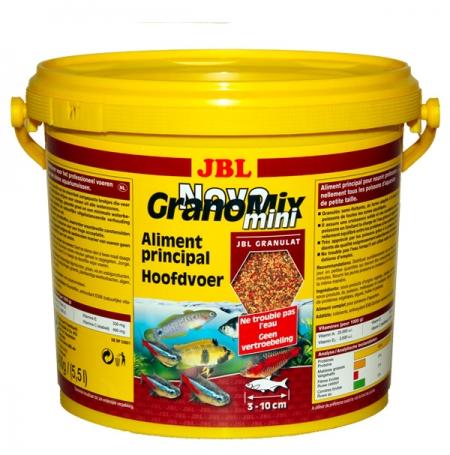 JBL NovoGranoMix Mini 5,5L Nourriture mixte pour petits poissons