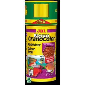 JBL NovoGranoColor Click 250 ml Granulés pour poissons d'ornement