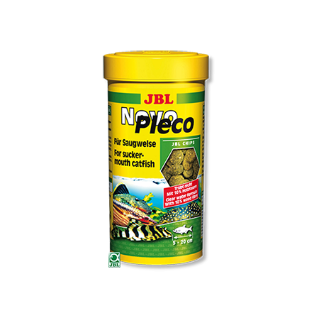 JBL NovoPleco 100 ml Nourriture pour poissons de fond herbivores