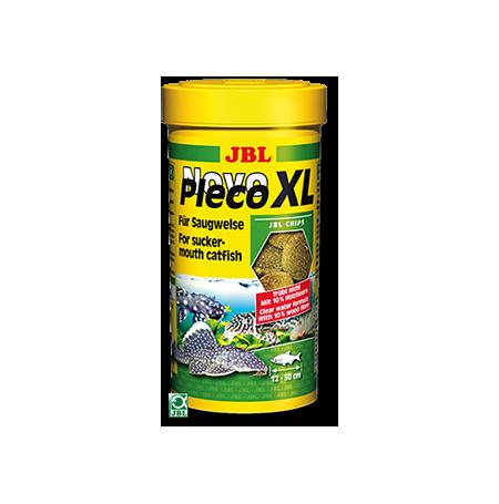 JBL NovoPleco XL 250ml Chips alimentaires XL pour loricariidés