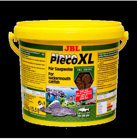 JBL NovoPleco XL 5,5L Chips alimentaires XL pour loricariidés