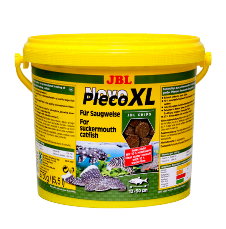 JBL NovoPleco XL 5,5L - Pour loricariidés