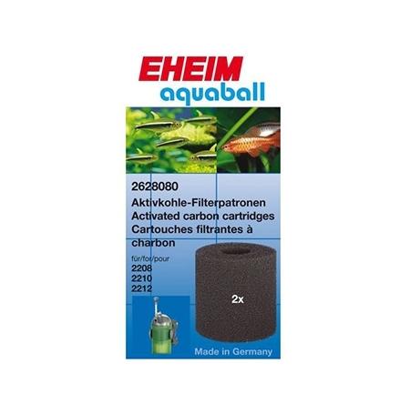 EHEIM Cartouches Filtrantes Charbon - Pour Filtre Aquaball 60/130/180