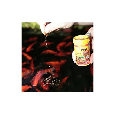 jbl nourriture poisson jbl novored nourriture poissons rouges 1litre