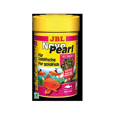Jbl novopearl nourriture pour poissons rouges granul s 100ml for Jbl nourriture poisson