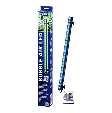 HOBBY Bubble Air LED 44 cm Diffuseur d'air pour aquarium - 24 LED
