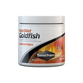 SEACHEM NutriDiet Goldfish Flakes 30g Nourriture poissons rouges Flocons